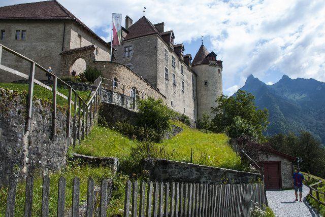 Castillo de Gruyères: magia medieval en Suiza