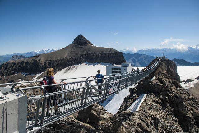 Peak Walk de Glacier 3000