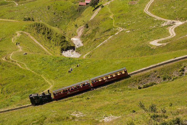 El tren del Brienz Rothorn