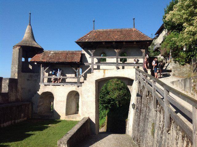 En las murallas de Gruyères