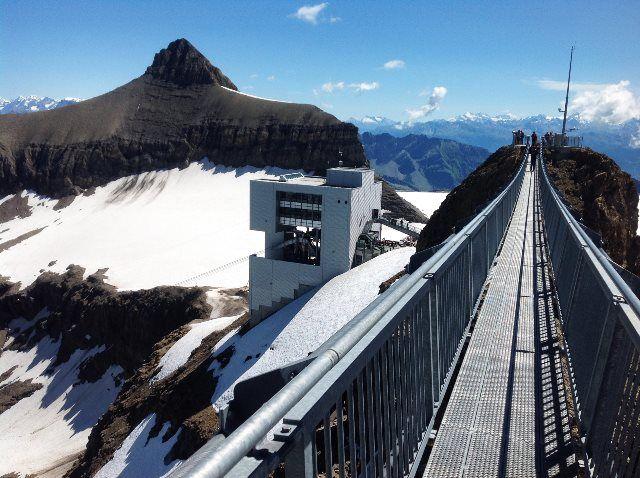 Glacier 3000 desde el puente