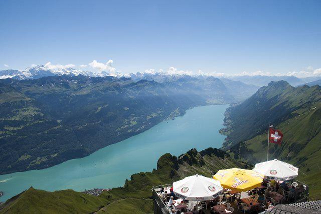 Típico restaurante suizo