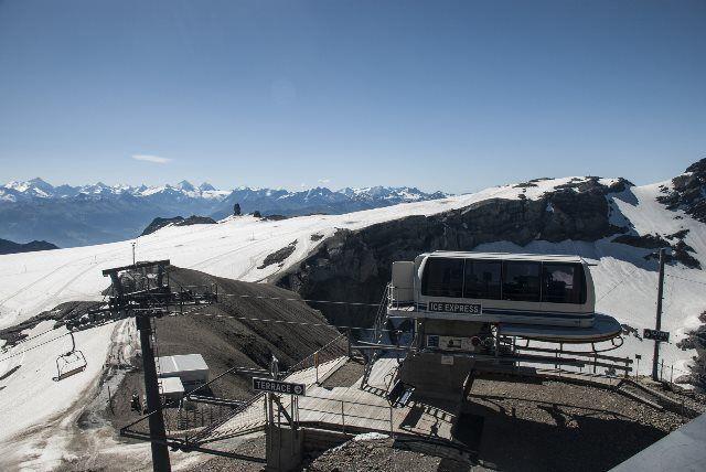 Telesilla de Glacier 3000