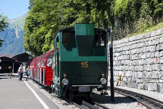 Tren Brienz Rothorn Bahn