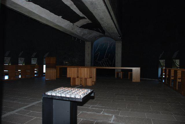 Interior de la iglesia de Santa María de los Ángeles