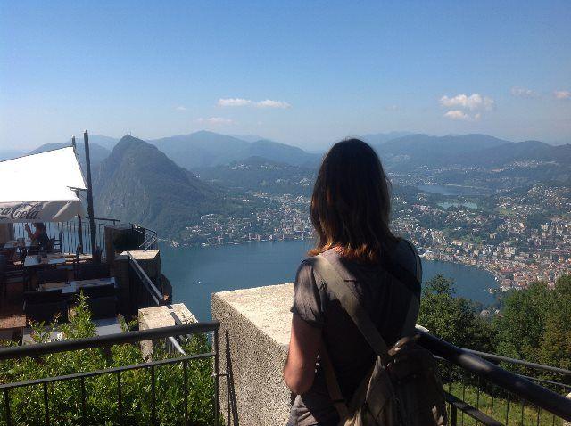Monte San Salvatore y Lugano