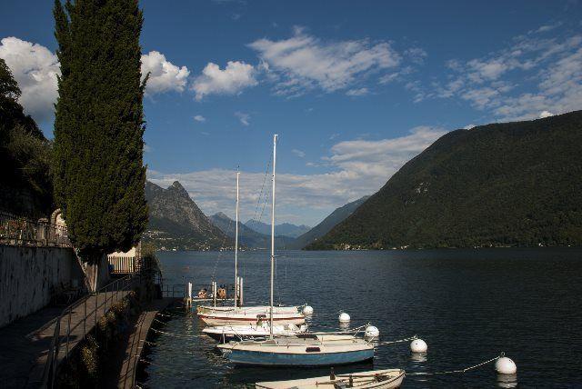 Barcas de Gandria