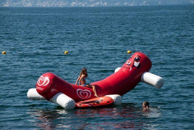 Diversión en el lago Maggiore