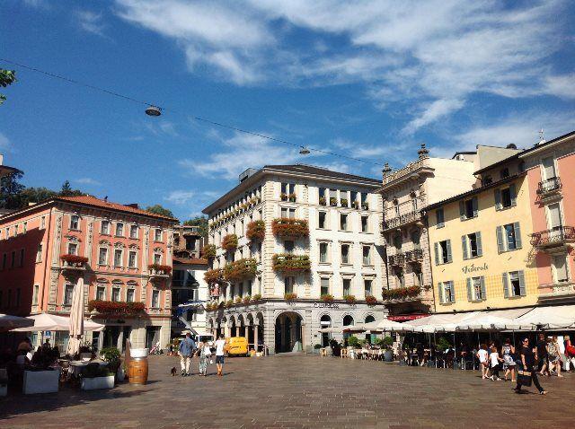 Plaza de la reforma de Lugano