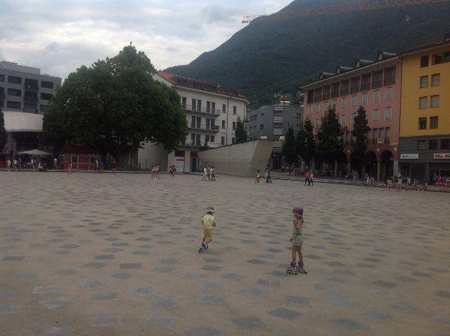 Plaza del sol Bellinzona