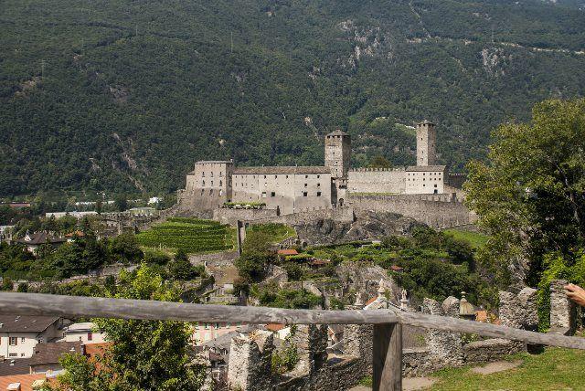 Vistas del Castelgrande