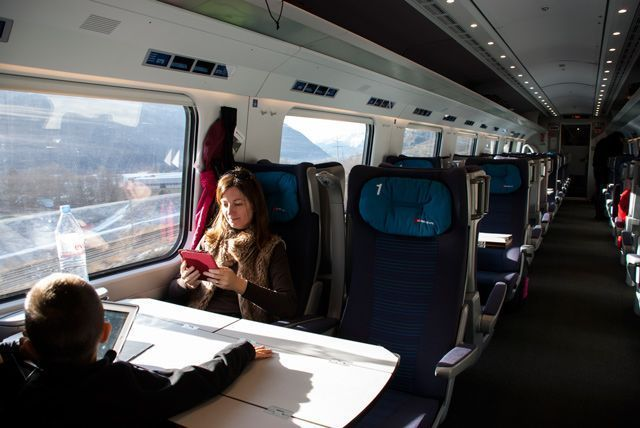 Viajando con Swiss Travel System