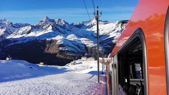 Viajes en tren con la Swiss Travel Pass