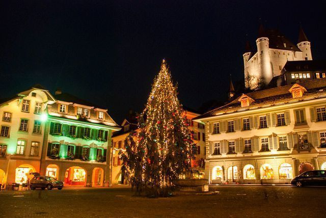 El árbol de Navidad de Thun