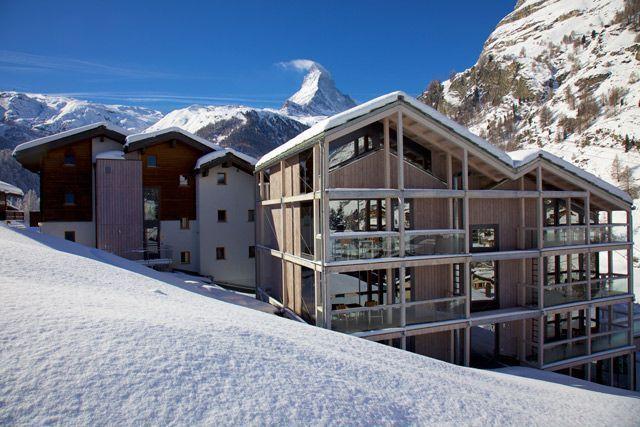 Matterhorn Focus: diseño alpino en Zermatt