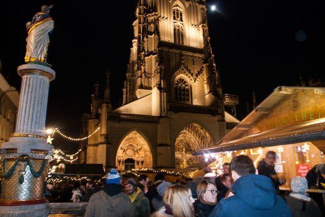 Mercado de Navidad de la Münsterplatz