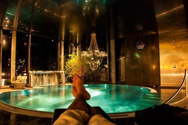 Relax en el spa del hotel