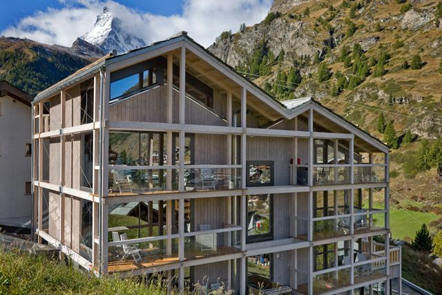 Vista del hotel Matterhorn Focus