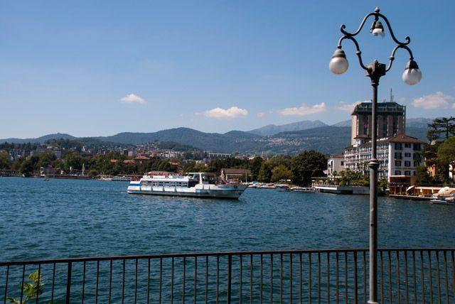Excursión en barco por el lago Lugano