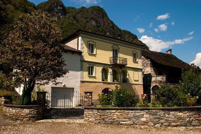 Casas nobles de Aurigeno
