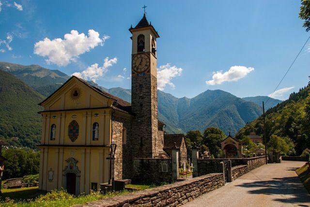 Ticino de postal