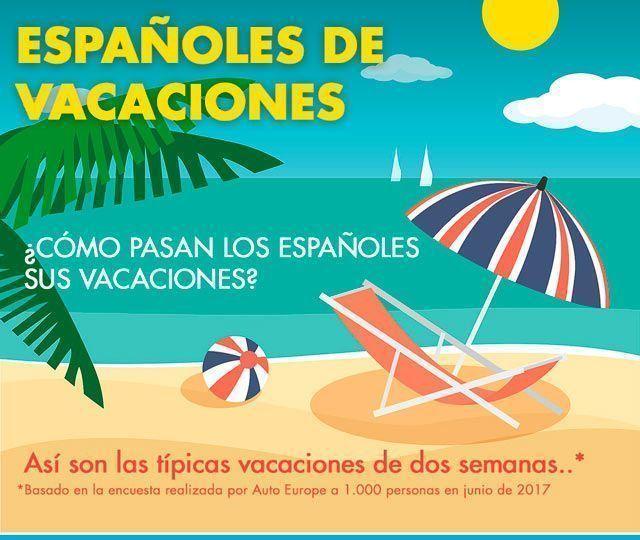 Vacaciones de los españoles ¿te identificas?