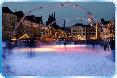 Pista patinaje Colonia