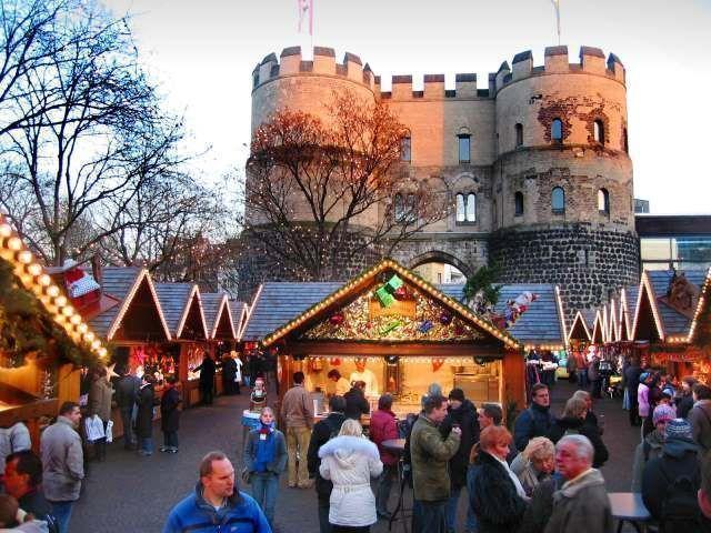 Mercado de Navidad de los niños