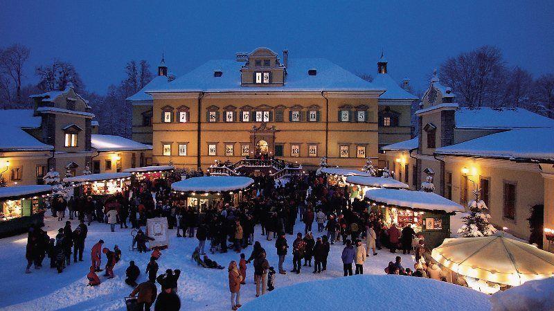 Mercado de Navidad de Hellbrunn