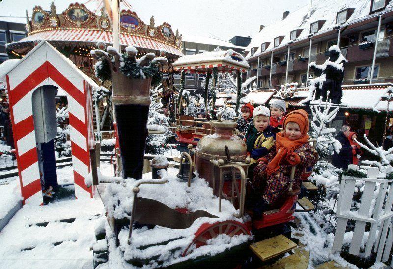 Mercado de Navidad para los niños