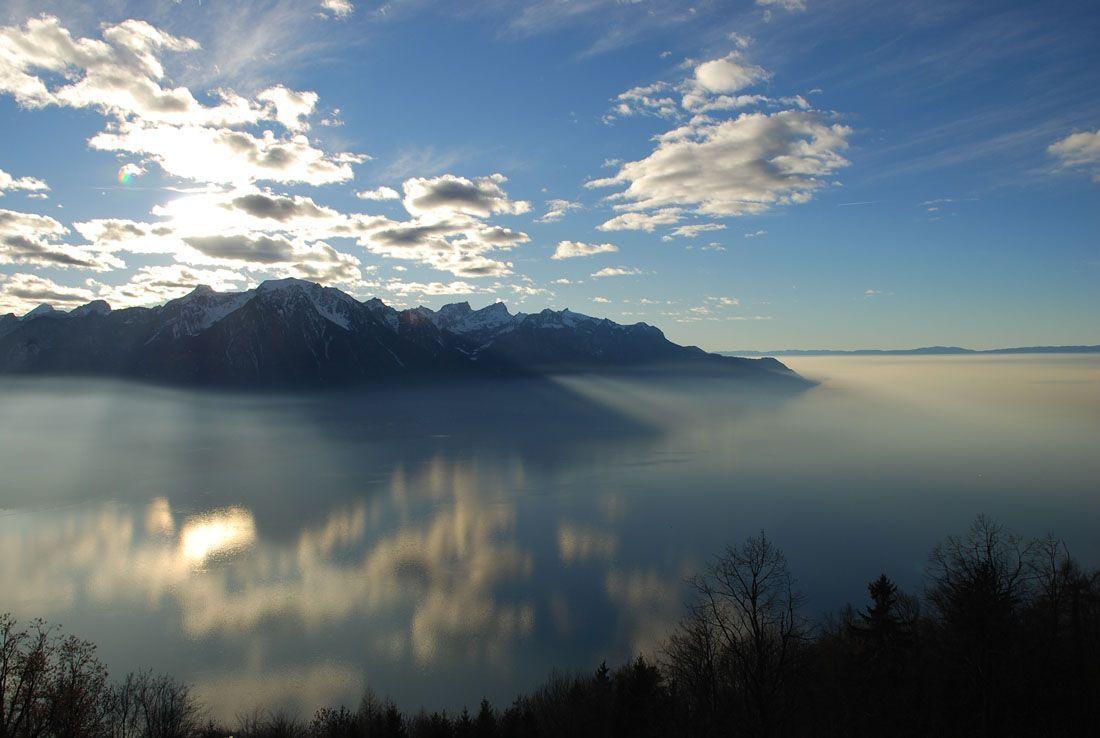 Vistas del Lago Leman