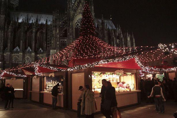 Mercado de Navidad de la Catedral de Colonia