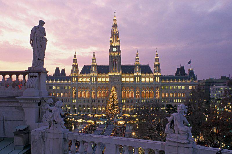 Mercado de Navidad Ayuntamiento de Viena