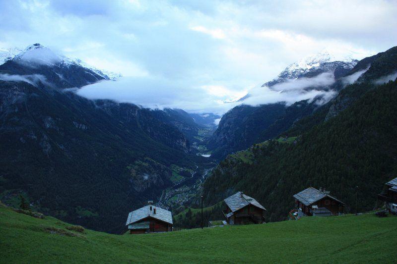Vistas del valle desde Jungen