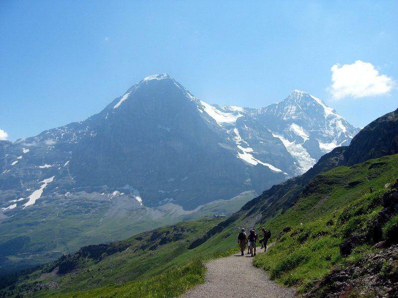 Camino a Kleine Scheidegg