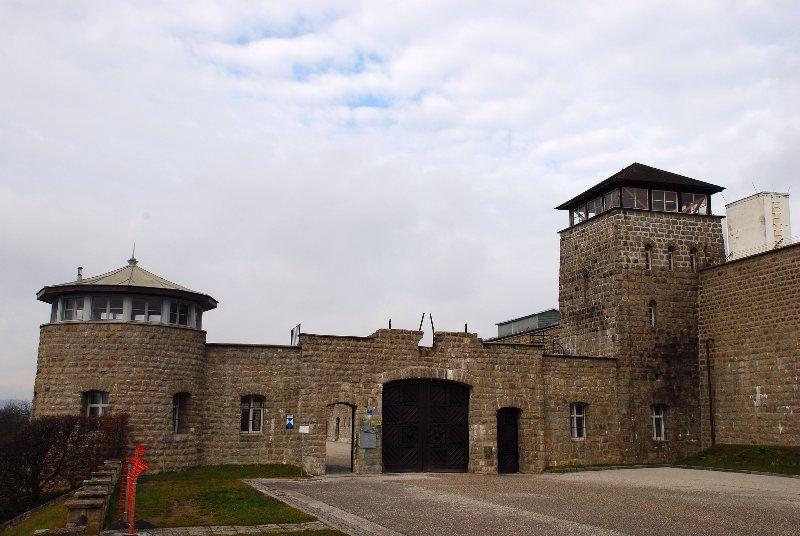 Puerta de Entrada a Mauthausen