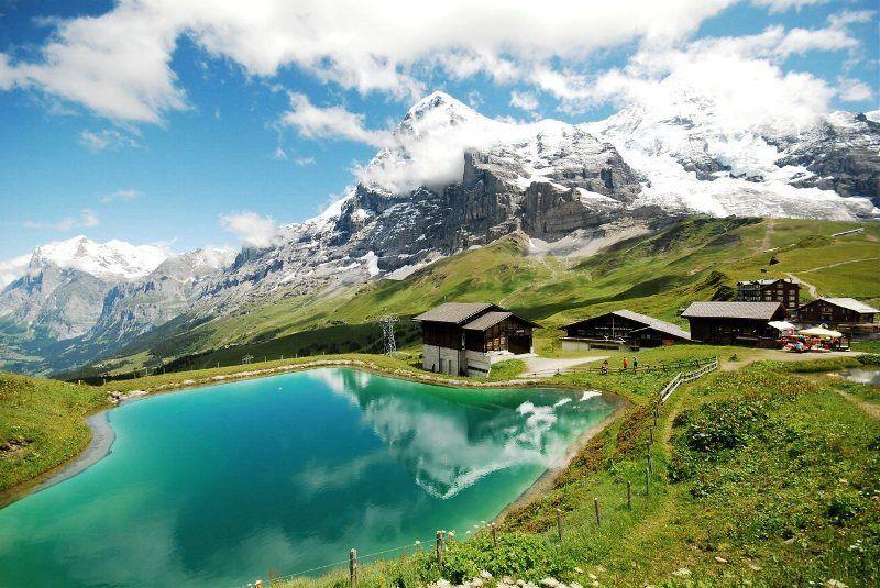 Espectacular Kleine Scheidegg