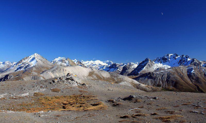 Macizo del Bernina desde Munt La Schera