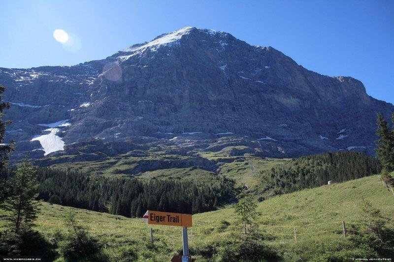 Señal Eiger Trail
