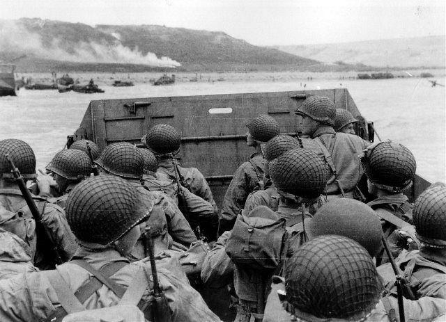 Desembarco en Omaha Beach