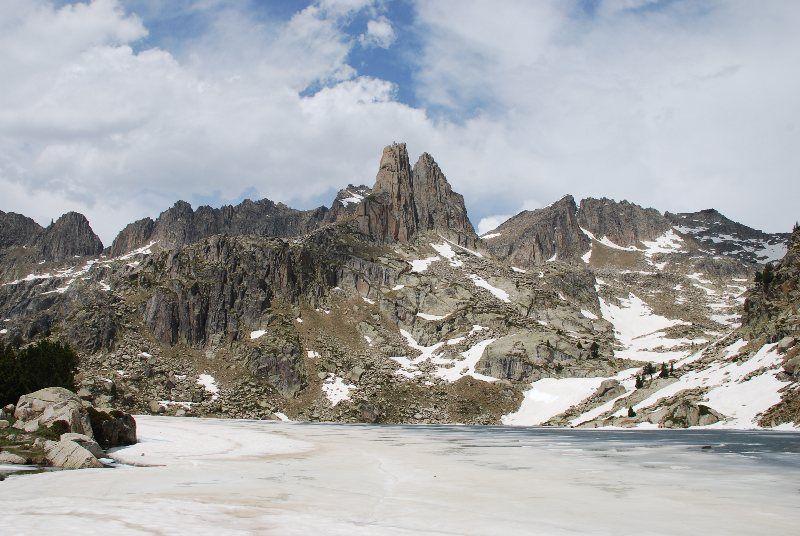 Lago Gran de Amitges y Agujas