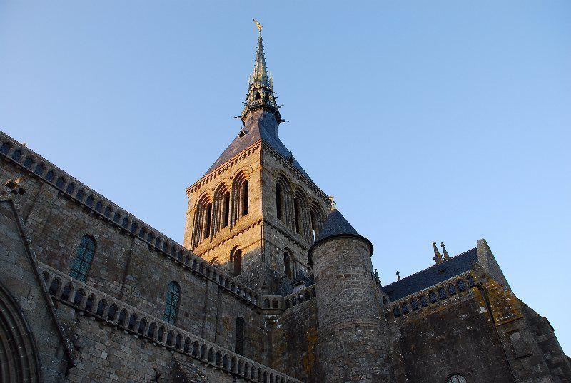 La iglesia abacial
