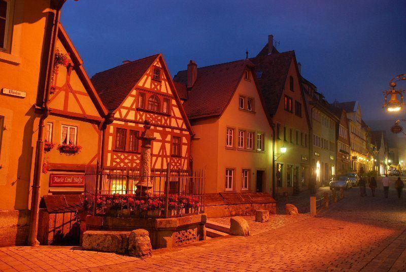 Rothenburg de noche