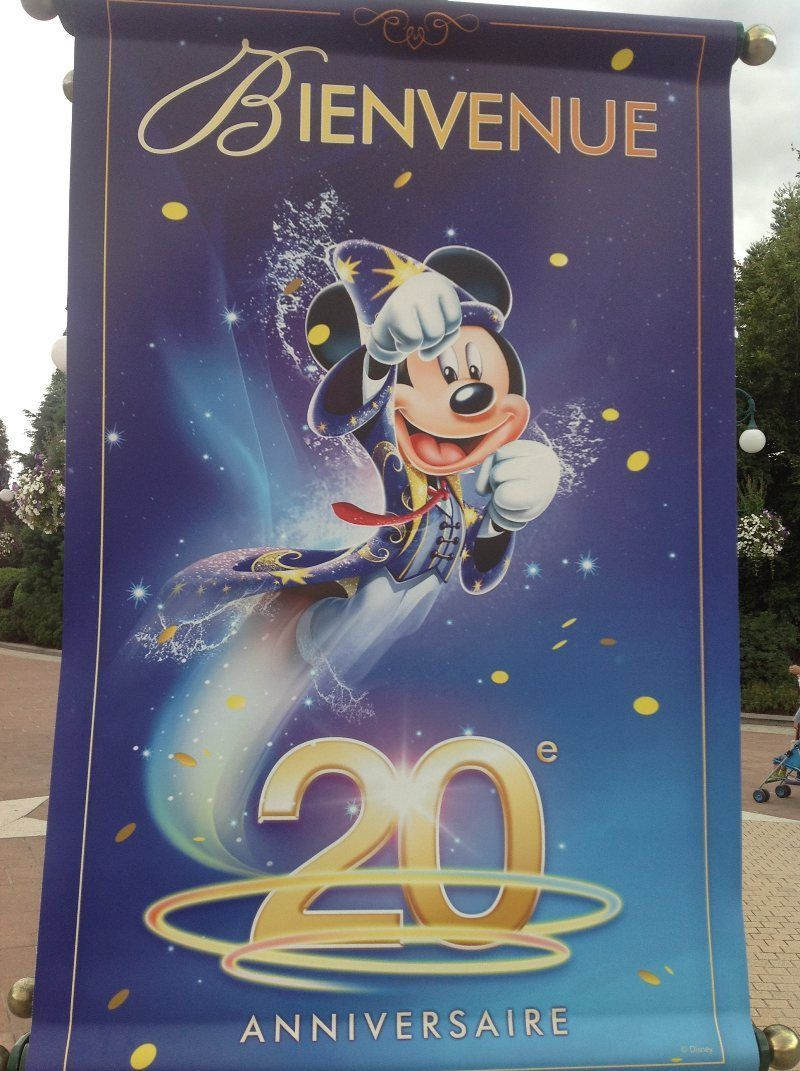 20 Aniversario de Disneyland Paris