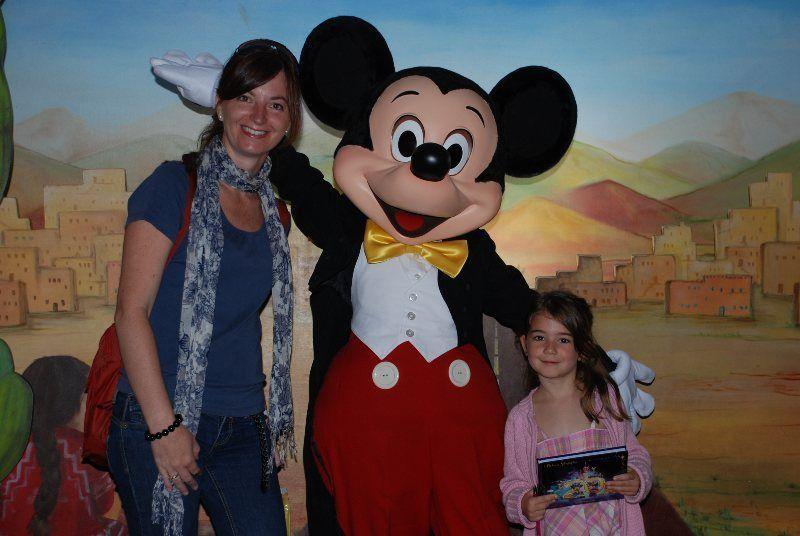 Mickey y familia