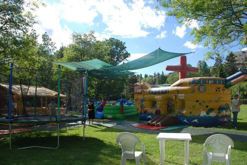 Parque de inflables de Ocejà