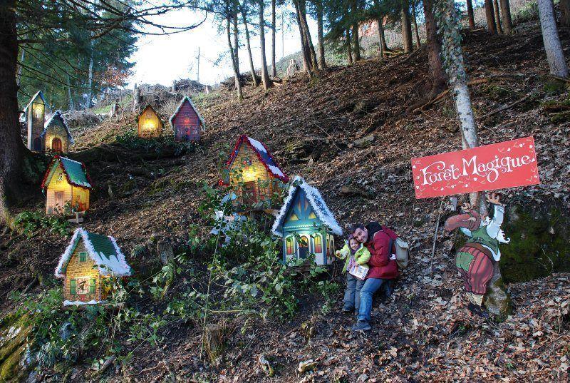 Pueblo de la Navidad en Montreux
