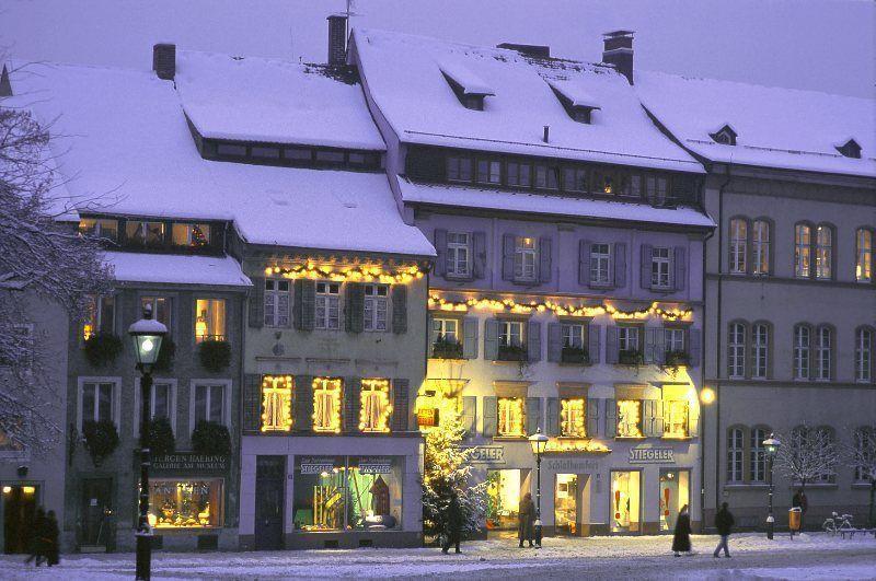 Friburgo nevado © Freiburg Wirtschaft Touristik und Messe GmbH & Co. KG / Foto: Karl-Heinz Raach