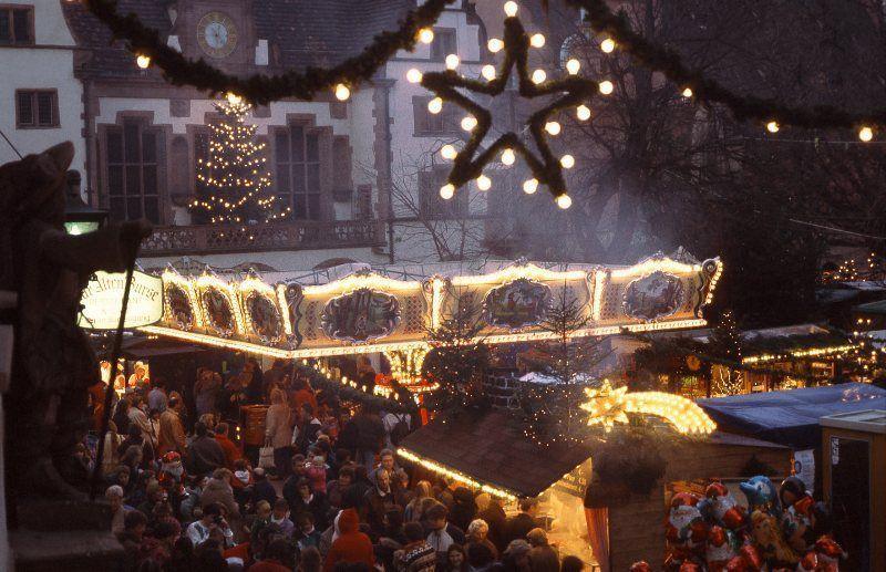 Mercadillo de Navidad de Friburgo © Freiburg Wirtschaft Touristik und Messe GmbH & Co. KG / Foto: Karl-Heinz Raach