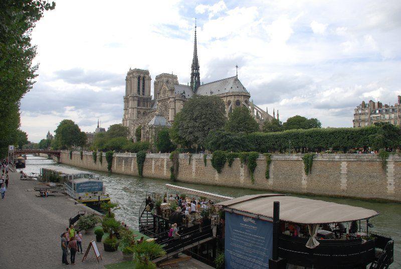 El Sena a su paso por Notre Dame